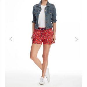 NEW • Draper James • Georgia Floral Knit Shorts Sm